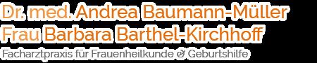 Frauenärztin Dr. med. Andrea Baumann-Müller